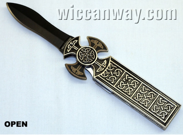 Celtic Cross Athame